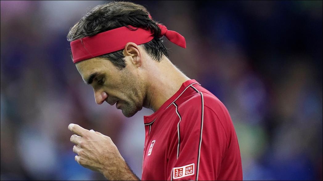 El suizo durante el Shanghai Masters