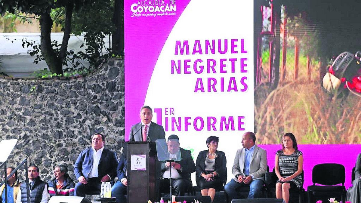 Manuel Negrete Arias alcalde Coyoacán