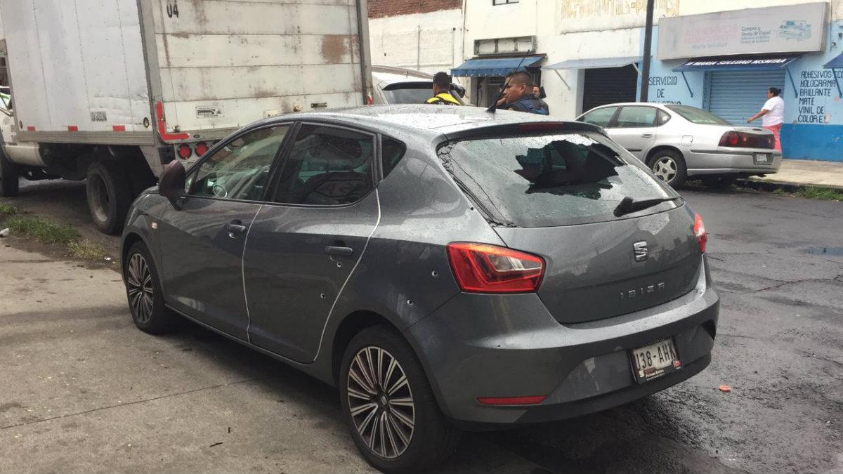 robo vehiculo colonia obrera ciudad de mexico detenidos balacera