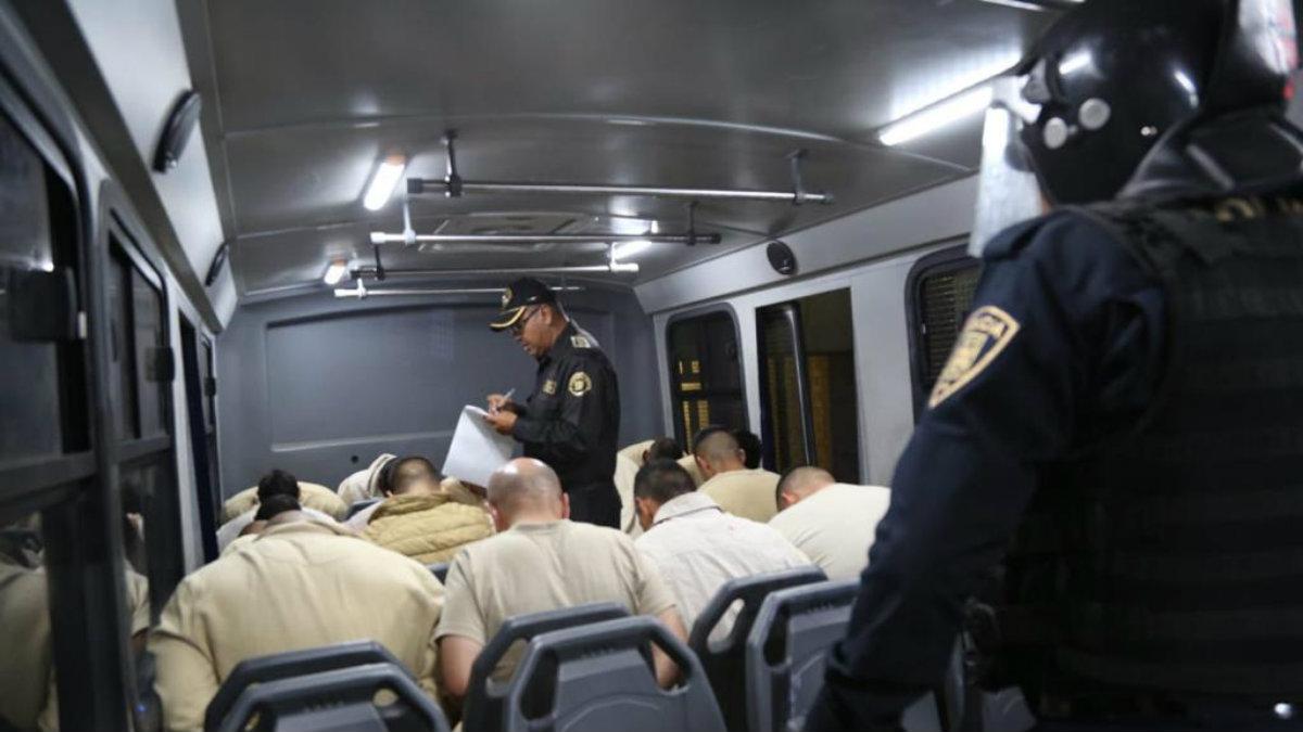 trasladan reos alta peligrosidad reclusorio oriente penales federales cdmx