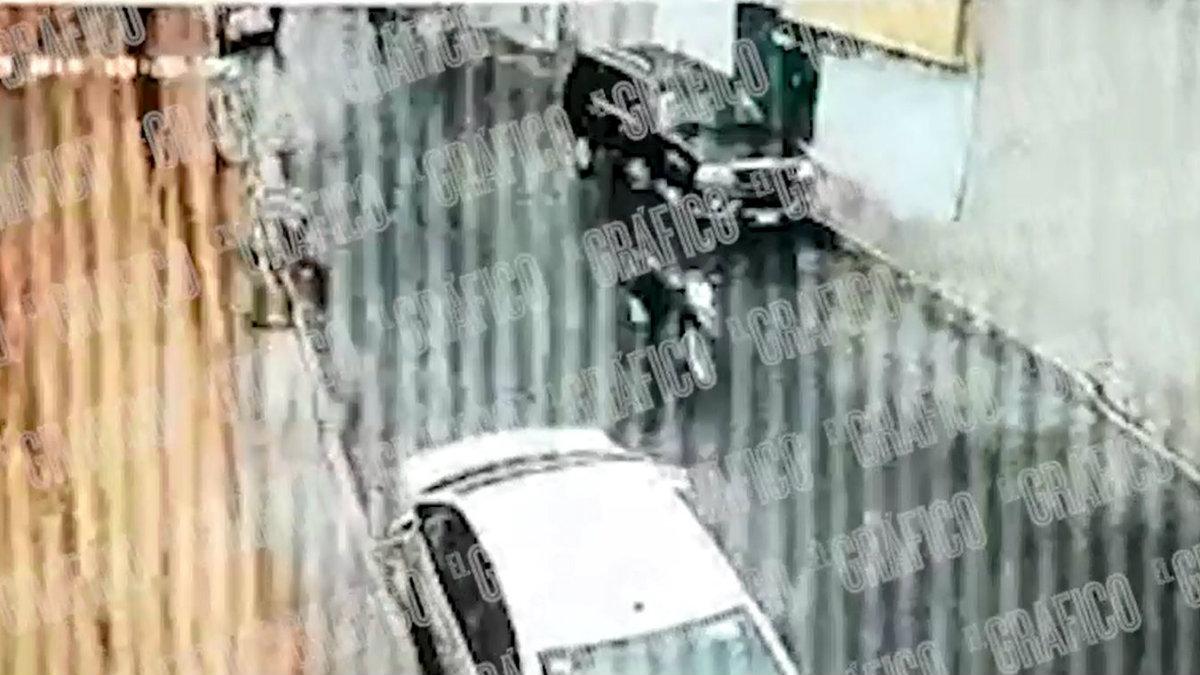 Video asesinato papá Iztapalapa