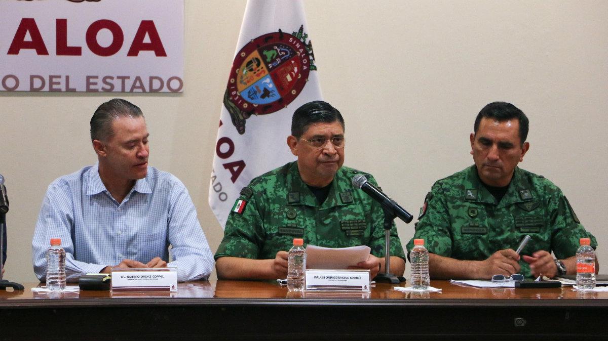 Sedena Culiacán Enfrentamiento Narcos Militares