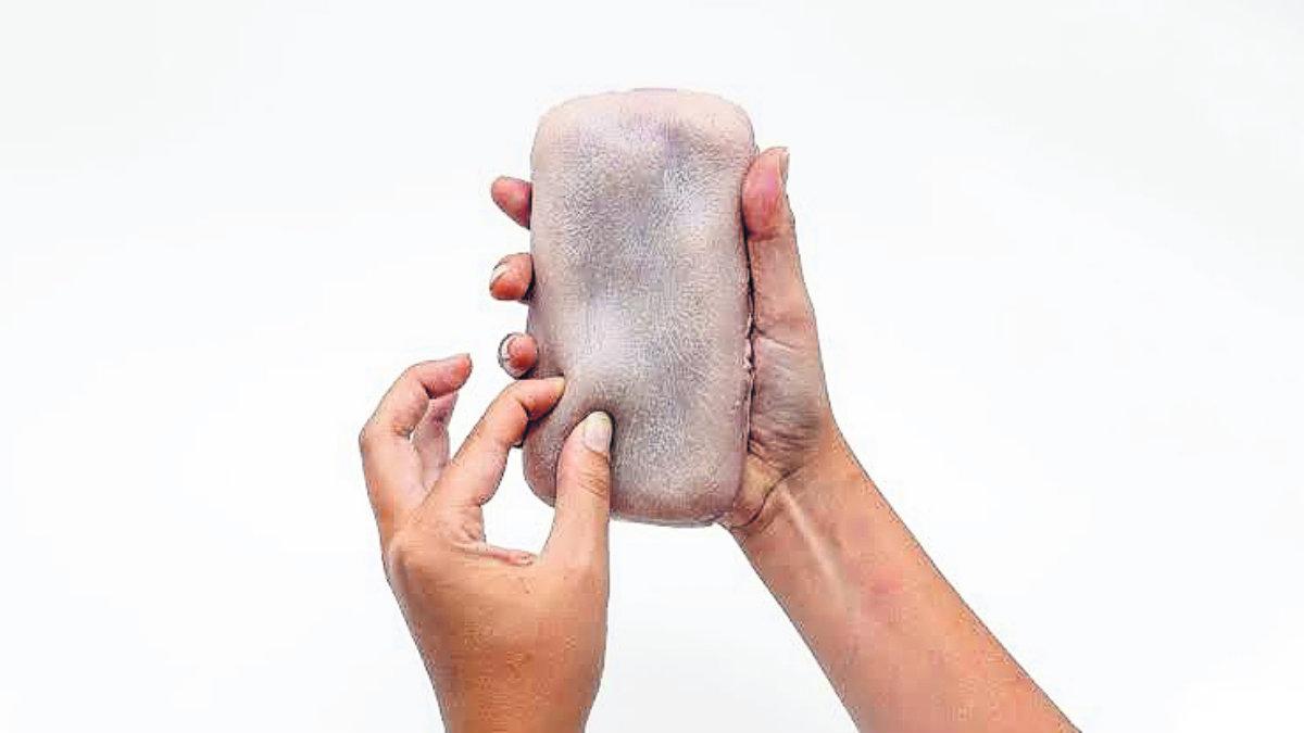 crean carcasa celular piel humana