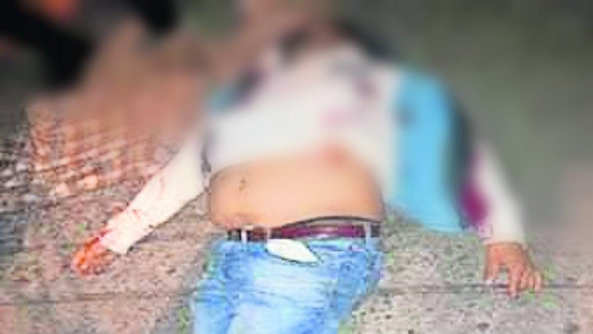 muerto balacera sale de fiesta busca droga dealer narcomenudista