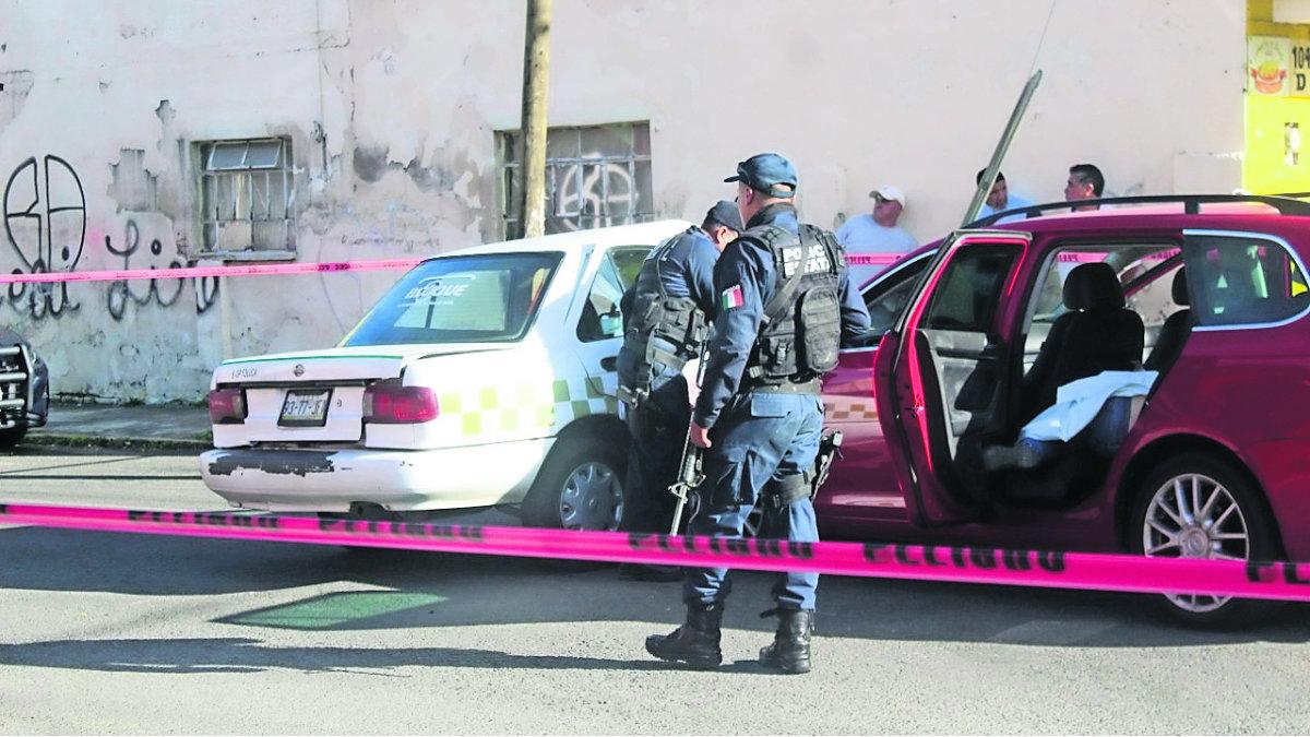 secuestradores huyen chocan matan mujer secuestrada atada balacera edomex méxico
