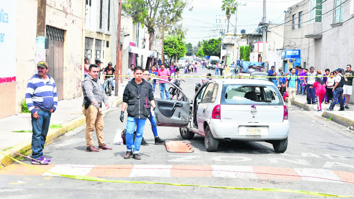 Balean automovilista en Ecatepec homicidio Edomex