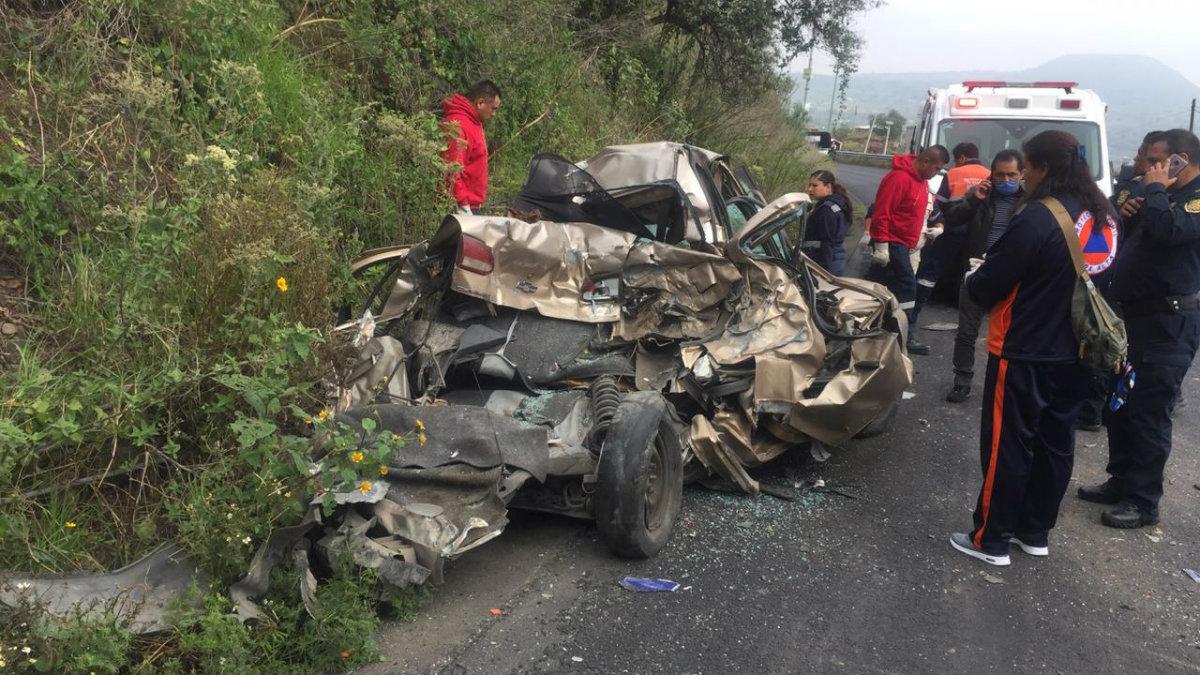 choque carretera xochimilco oaxtepec