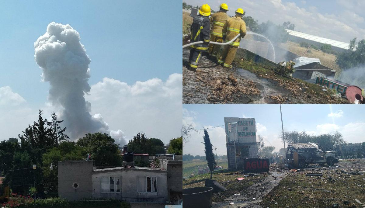 Explosión polvorín Zumpango