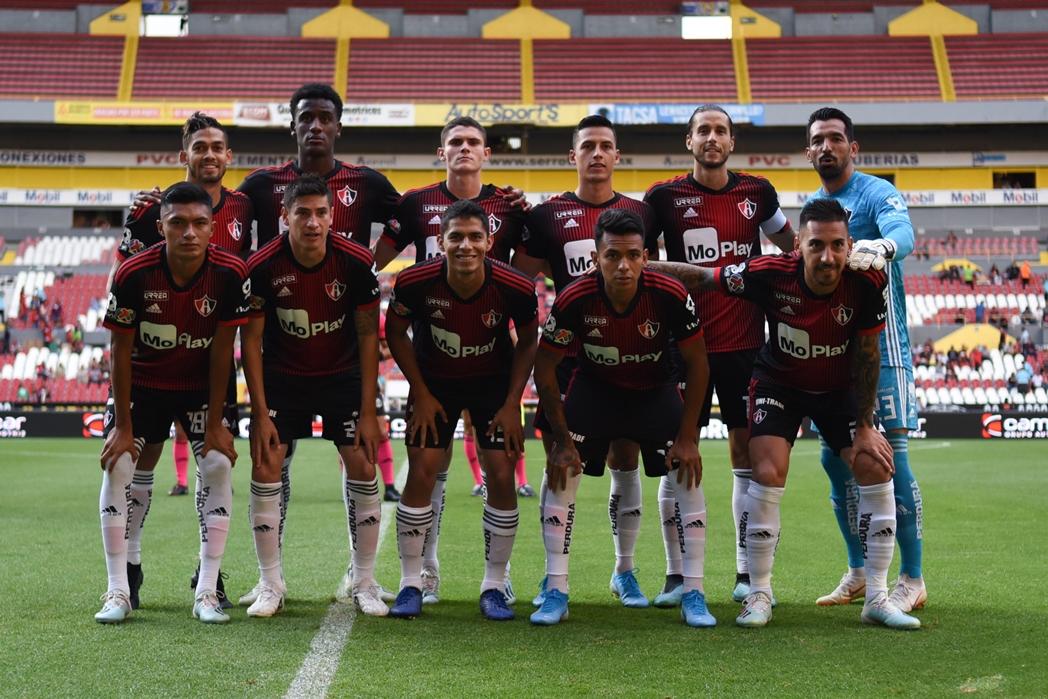 Atlas en un juego en el Estadio Jalisco