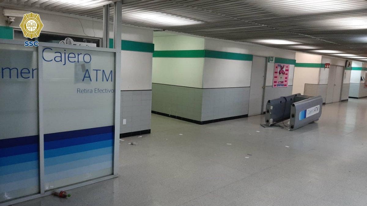 ladrones cajero medicina CDMX