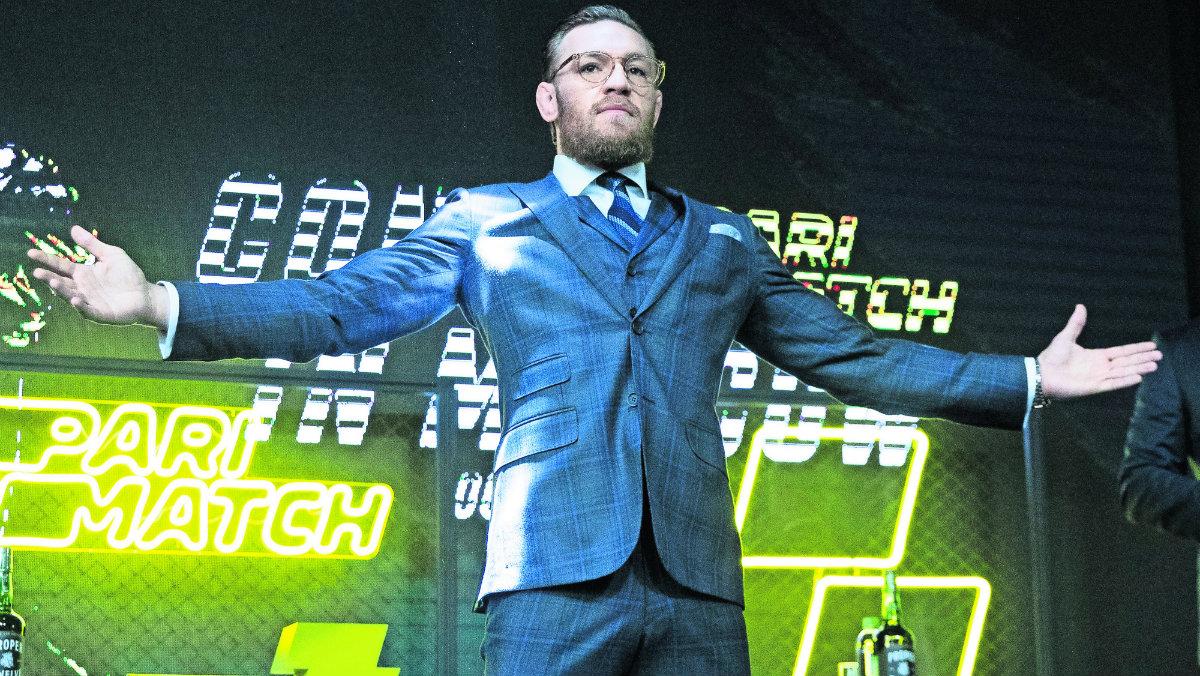 Connor McGregor regreso