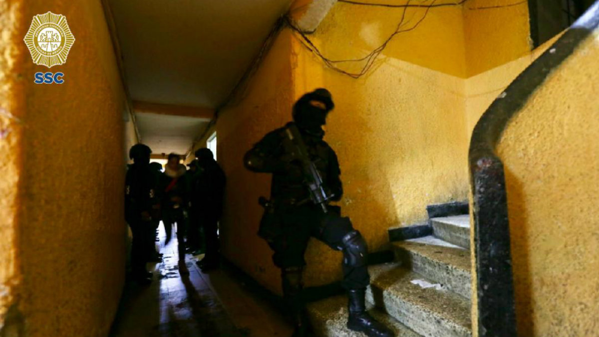 operativo, secuestradores, banda, policia, Cuauhtemoc GAM