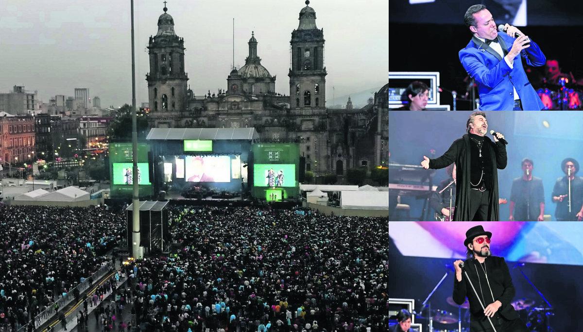 Homenaje José José Zócalo CDMX