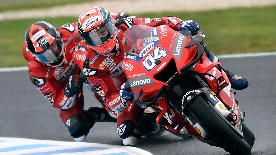 Fuerte accidente en el Gran Premio de Australia de motociclismo