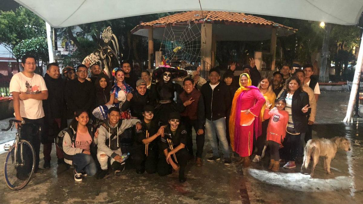 Desfile Cuautepec Día de Muertos