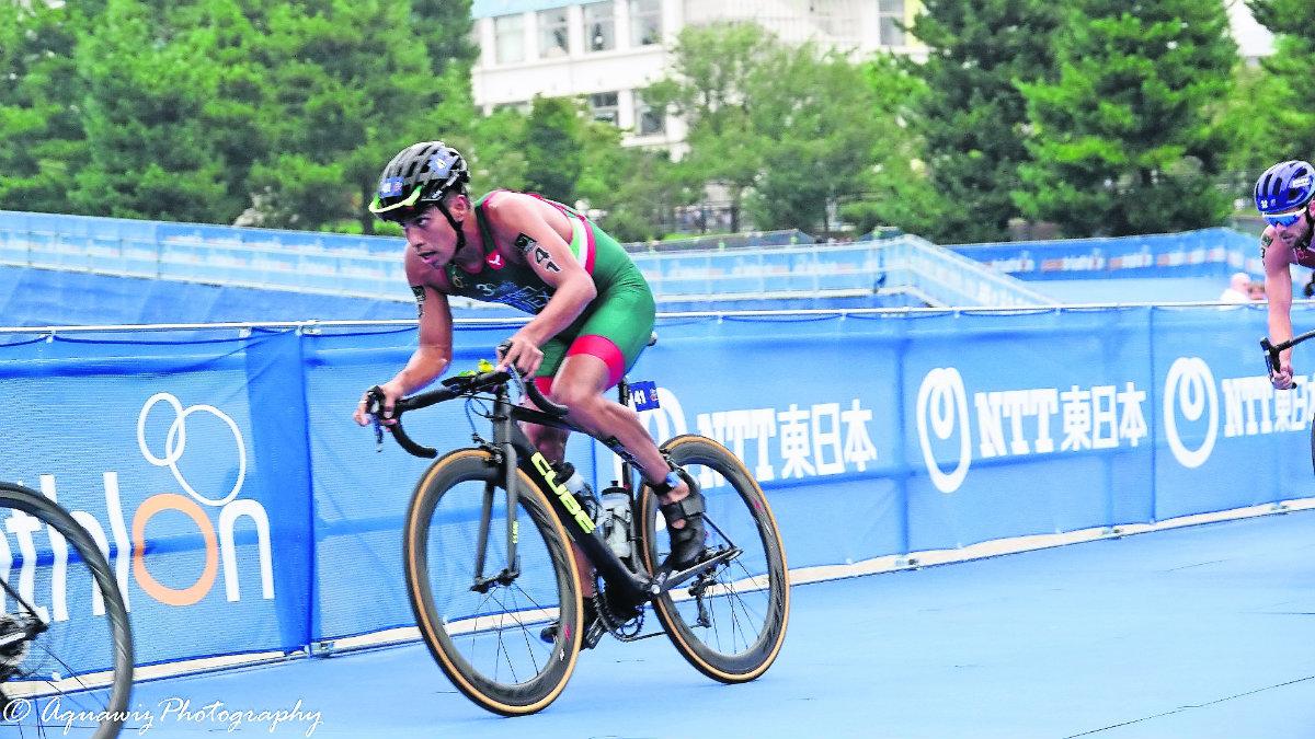 irving pérez triatleta morelense jojutla suma puntos clasificación juegos olímpicos tokio 2020