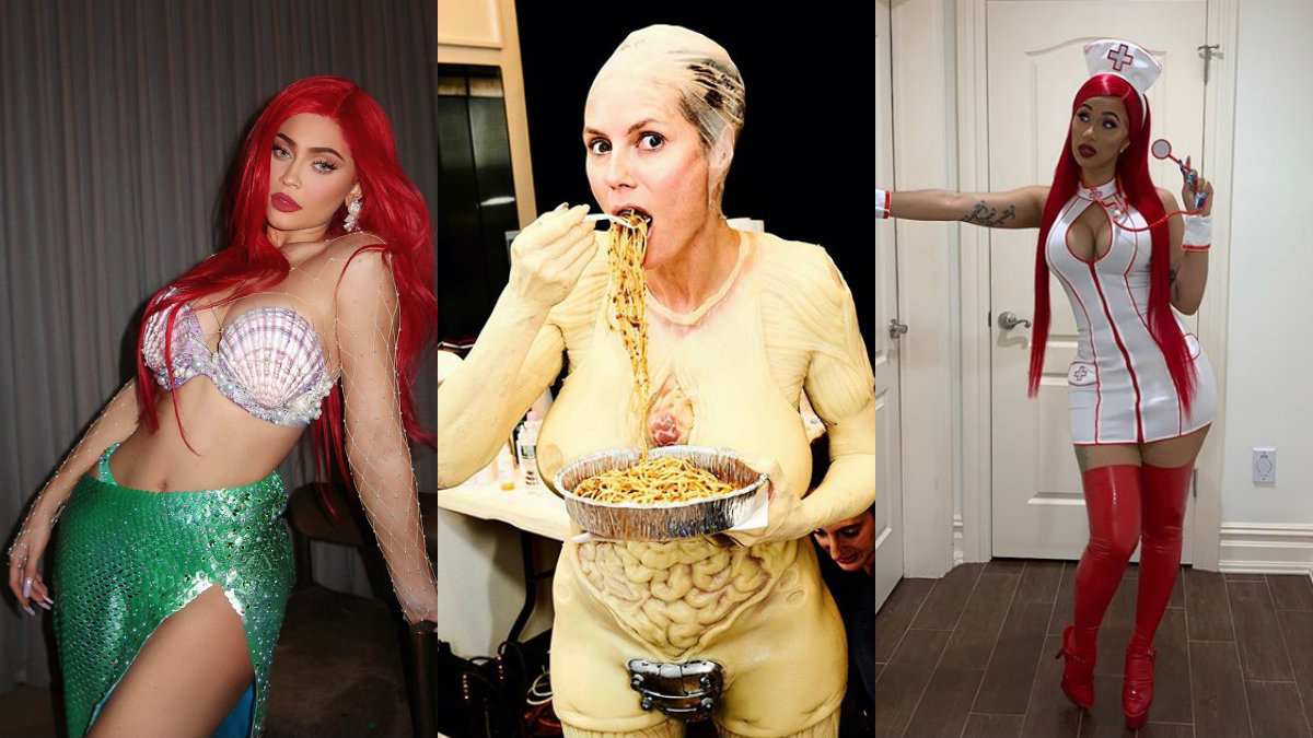 disfraces de halloween 2019 celebridades