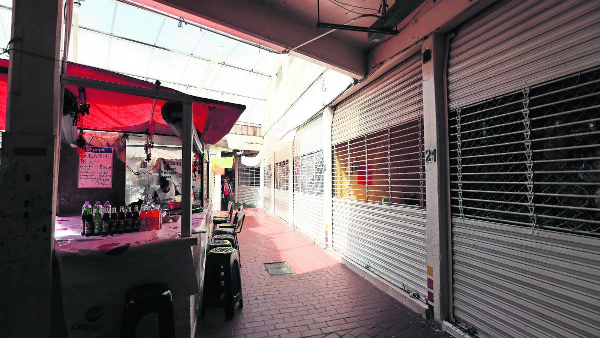 mercado 16 de septimbre deja sin luz comerciantes