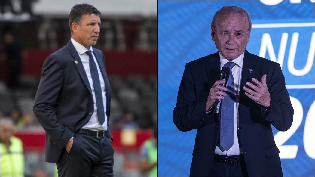 """""""Billy"""" Álvarez respalda a Robert Dante Siboldi"""