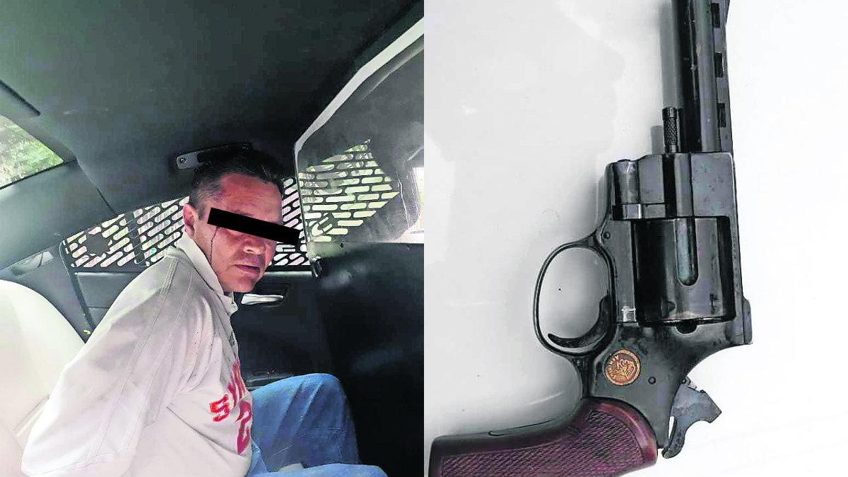 sujeto armado agrede a familia en cdmx dispara en la cara papa