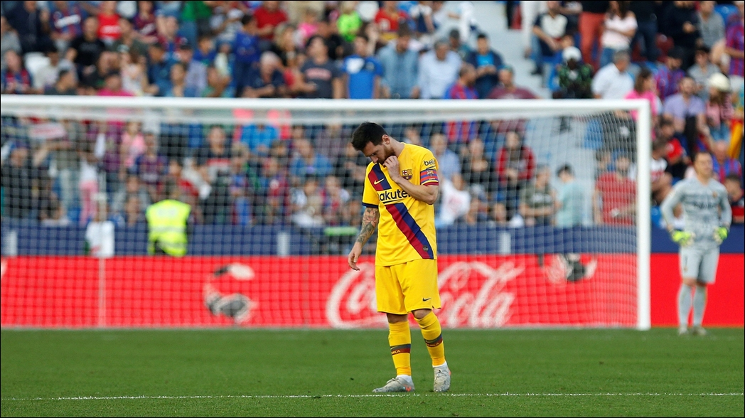 Levante derrota 3-1 al Barcelona