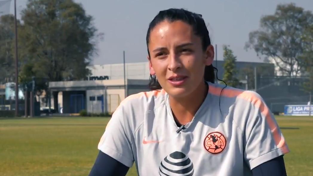La emotiva entrevista de la futbolista del América que falleció