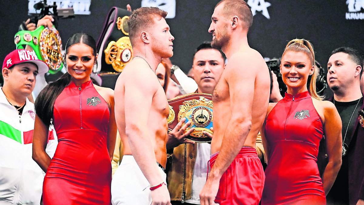 Saúl Álvarez vs Sergey Kovalev
