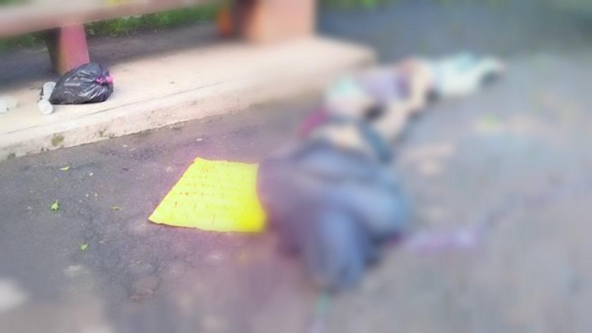 familia michoacana deja cadáveres maniatados narcomensaje valle de bravo
