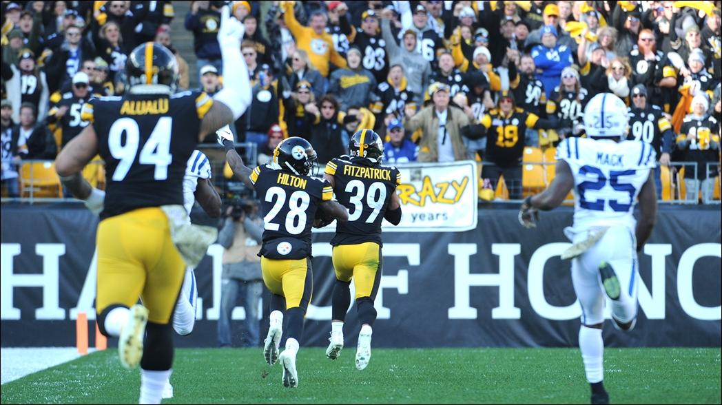 Steelers vencen a Colts en un final dramático