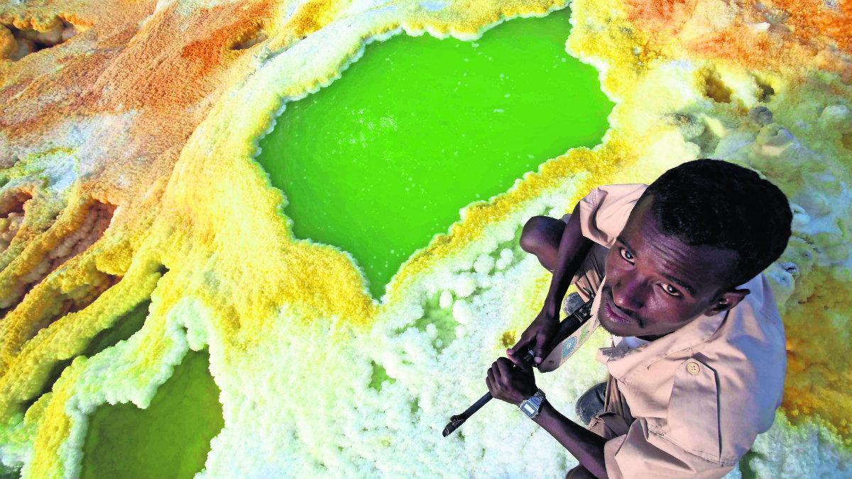 vida desierto caluroso etiopía