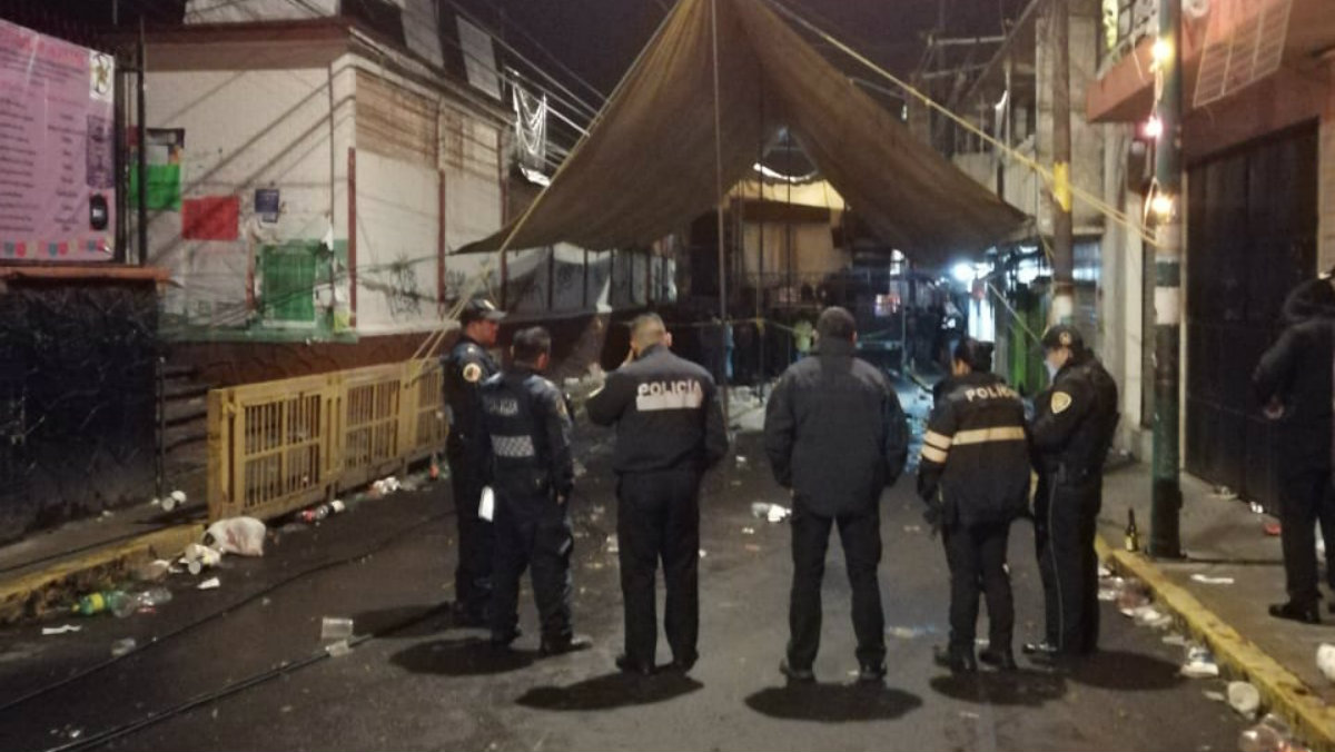 balacera fiesta baile tlalpan san andrés totoltepec muerto heridos ataque armado