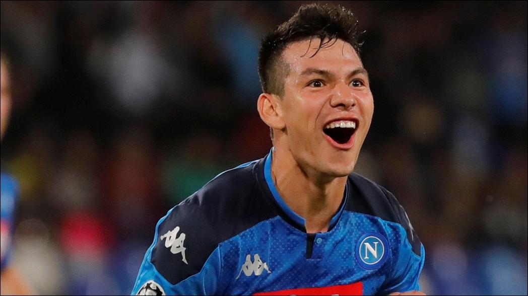 Así fue el gol de Hirving Lozano en Champions League