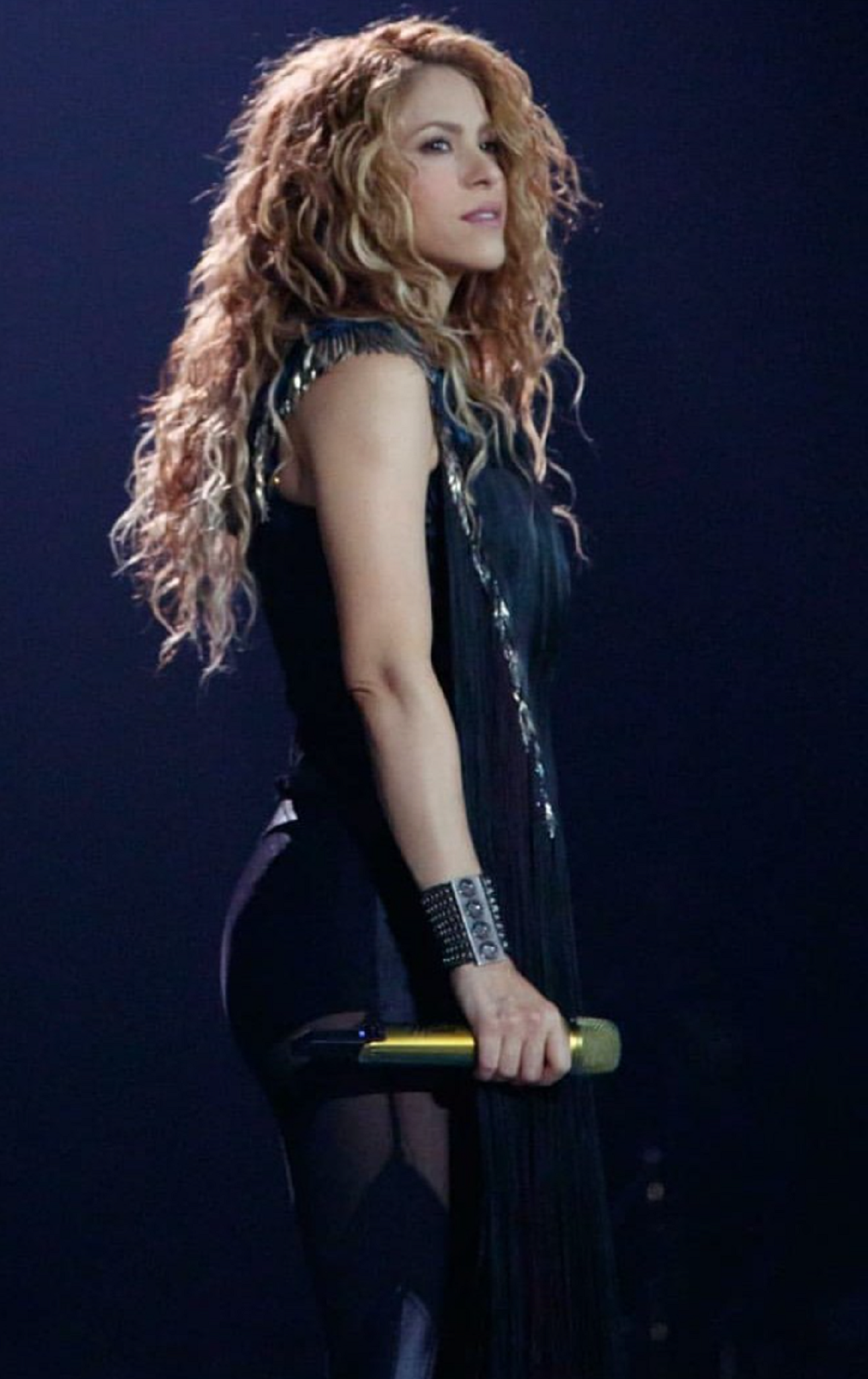 Shakira sin voz matrimonio Gerard Piqué