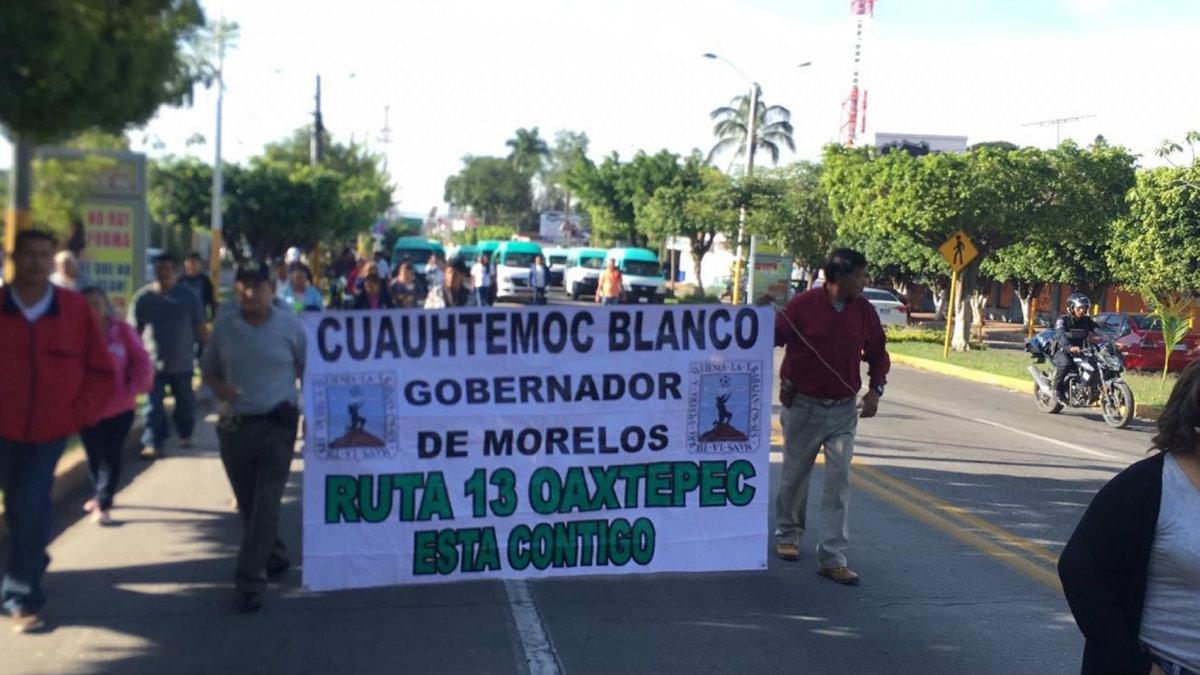 Transportistas pirata Morelos