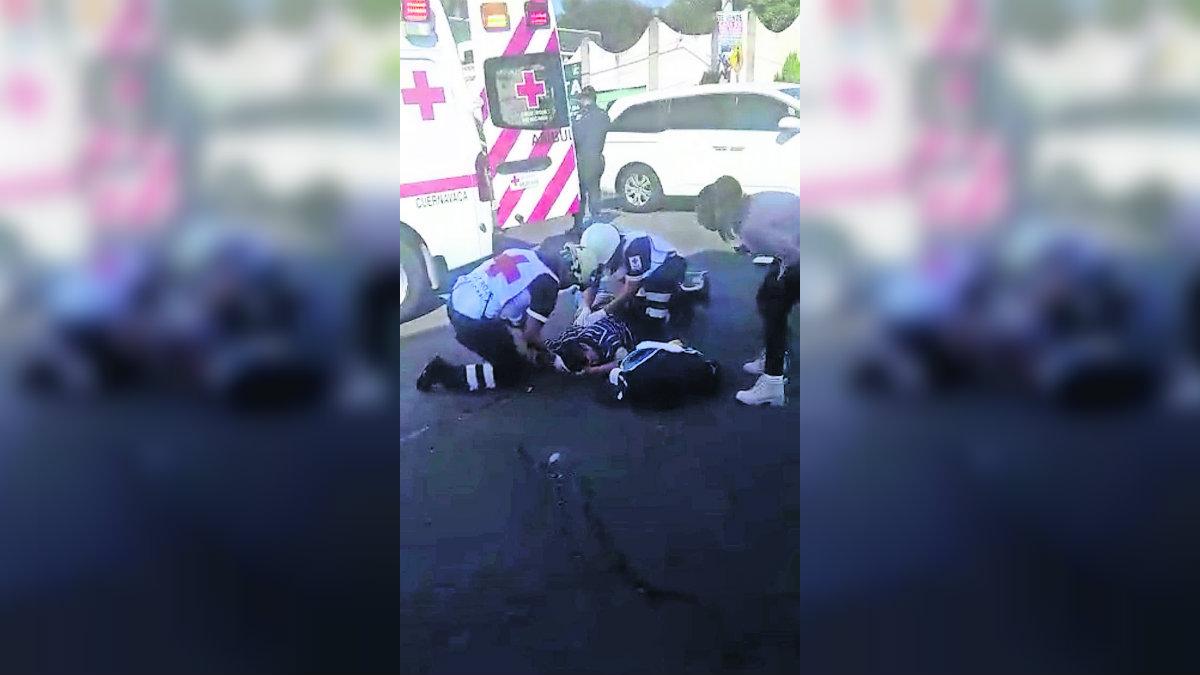 Motociclista atropellado avenida Río Mayo