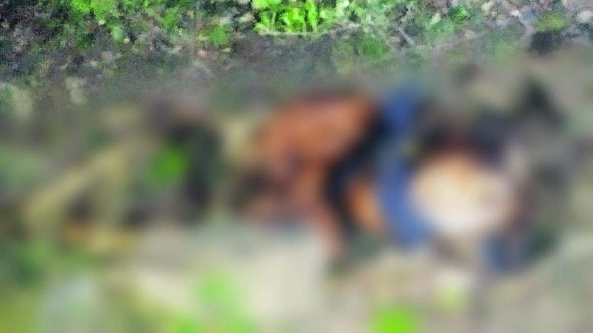 Cadáver mujer dije Santa Muerte Amacuzac