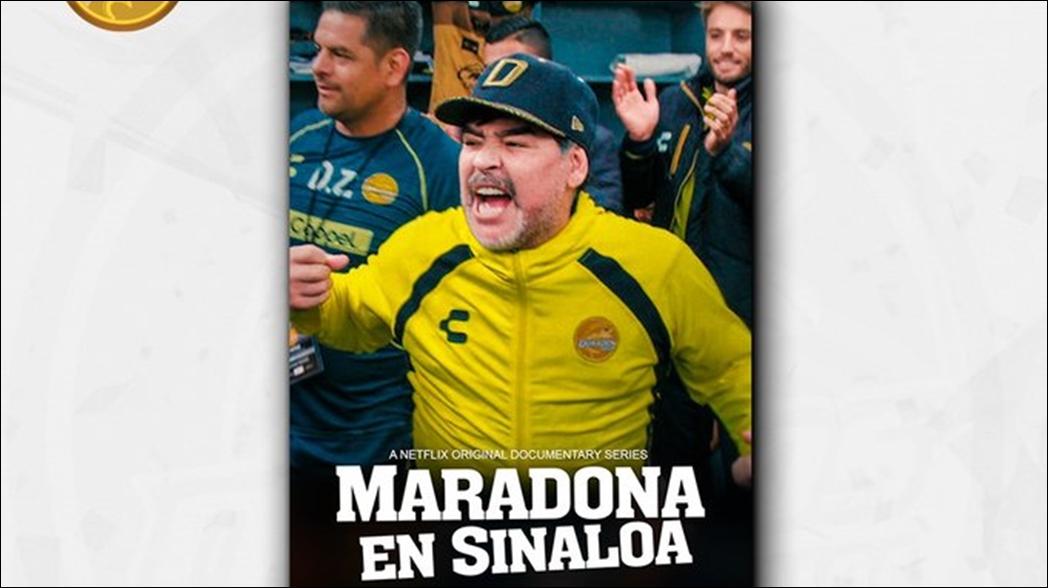 """Netflix estrena serie """"Maradona en Sinaloa"""""""