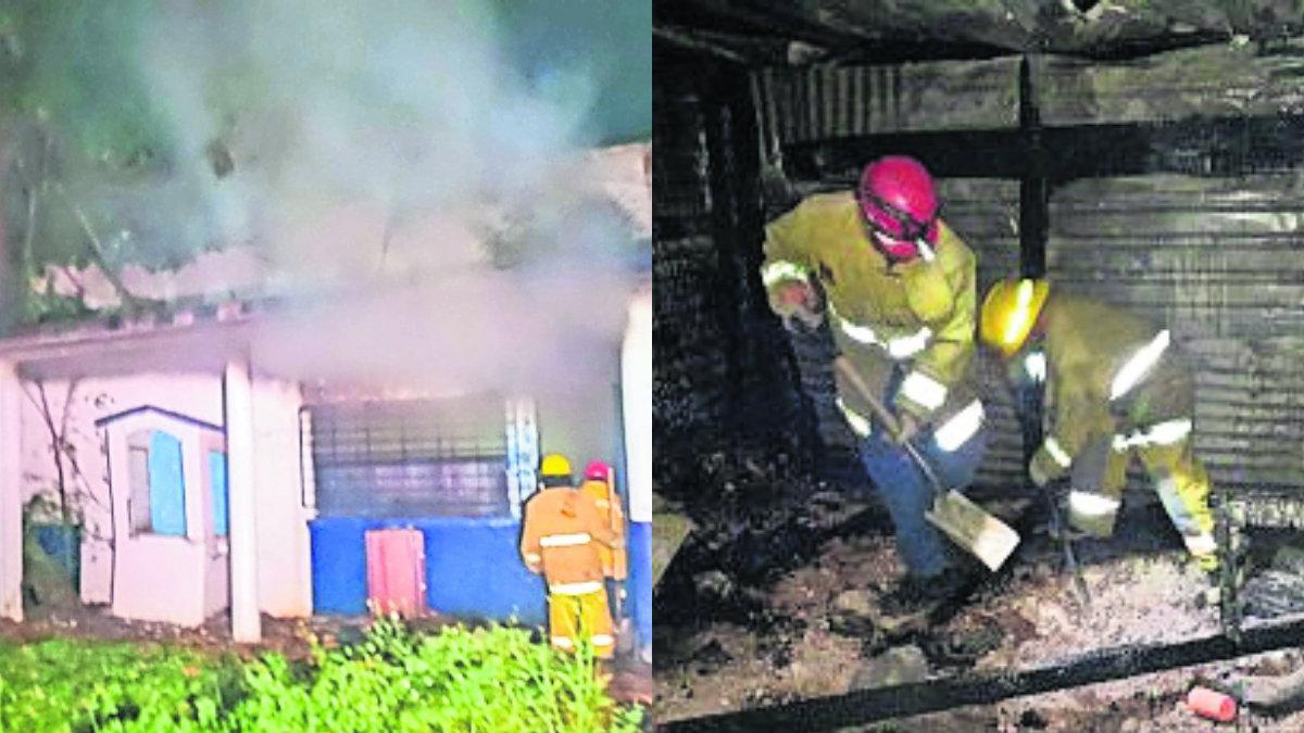 Excomandancia de la Policía Municipal de Iguala arde en llamas por sujetos armados | El Gráfico - El Grafico