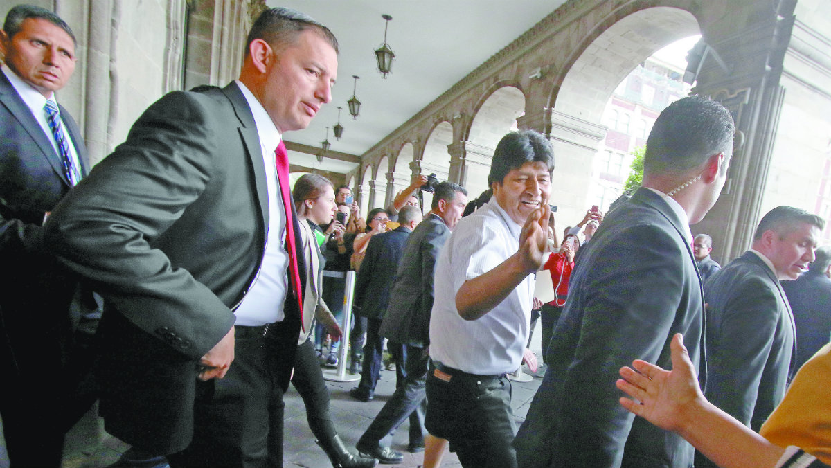 Evo Morales asilo político presidente de Bolivia