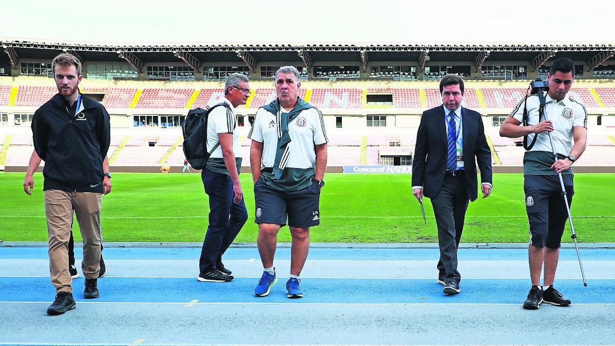 Gerardo Martino México contra Panamá