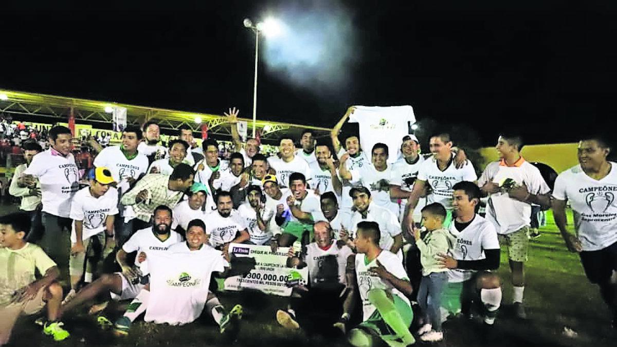 Selección de fútbol Gas Morelos vence a Peña Flores y conquista la Copa Unión 2019 | El Gráfico - El Grafico
