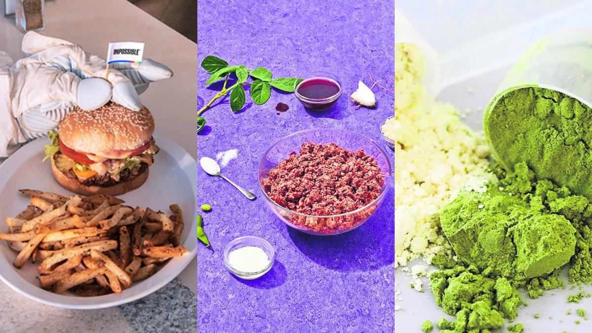 Air Protein carne de aire