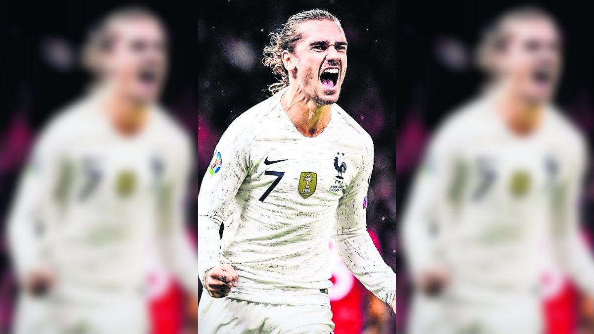 ¡Sacan boleto! Francia clasifica a la Eurocopa de la mano de Antoine Griezmann