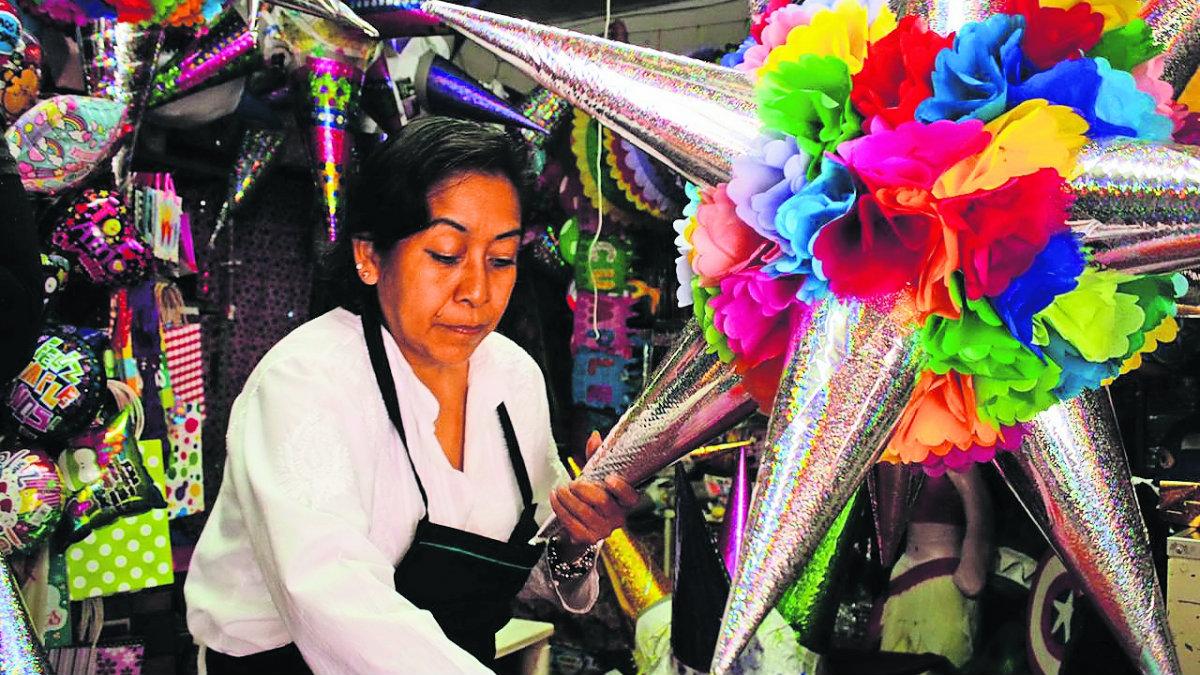 Piñatas épocas decembrinas