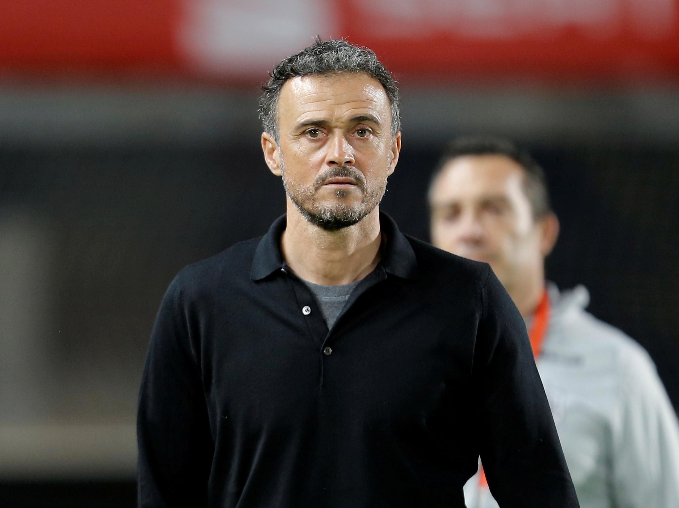 Luis Enrique regresa como técnico de España