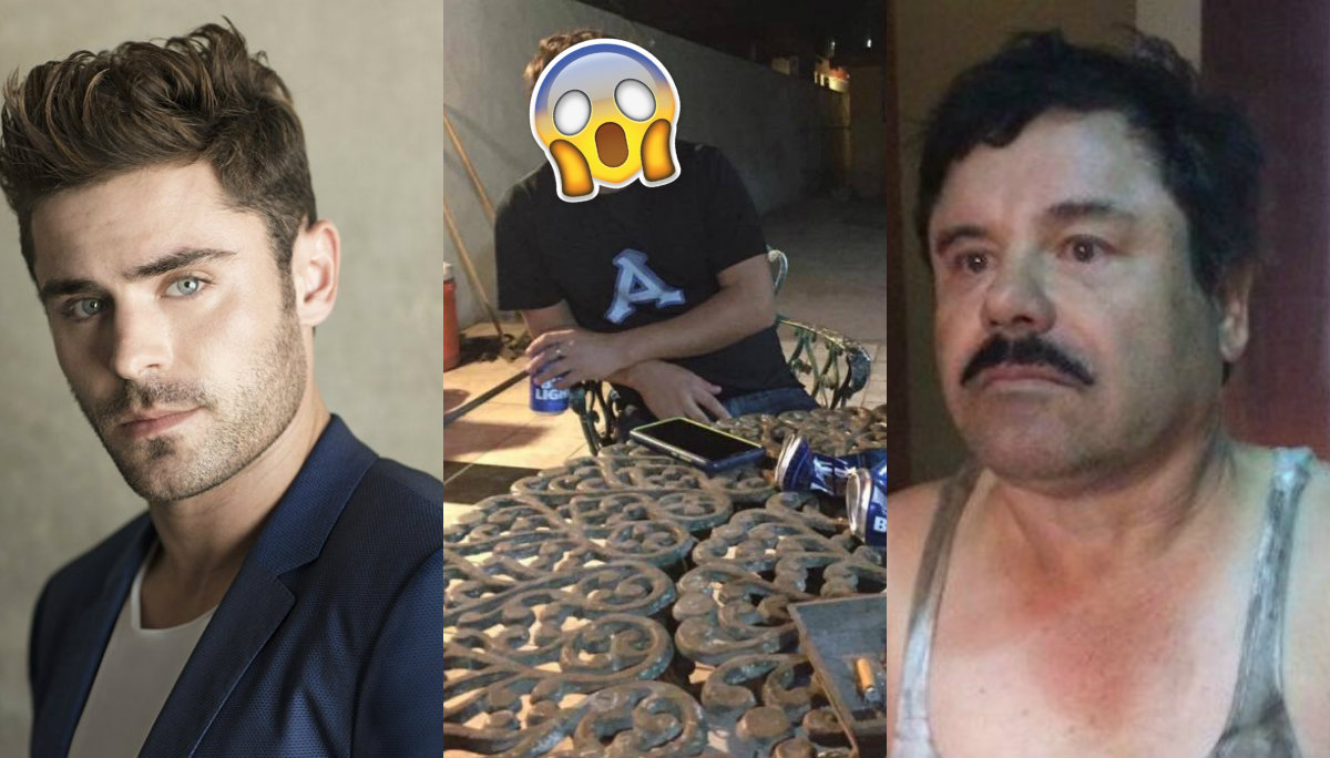 Zac Efron Chapo Guzmán hijo