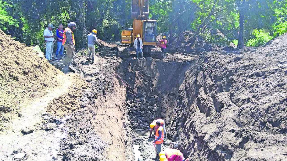 Autoridades aceleran el paso en la construcción de obras de drenaje, en Morelos