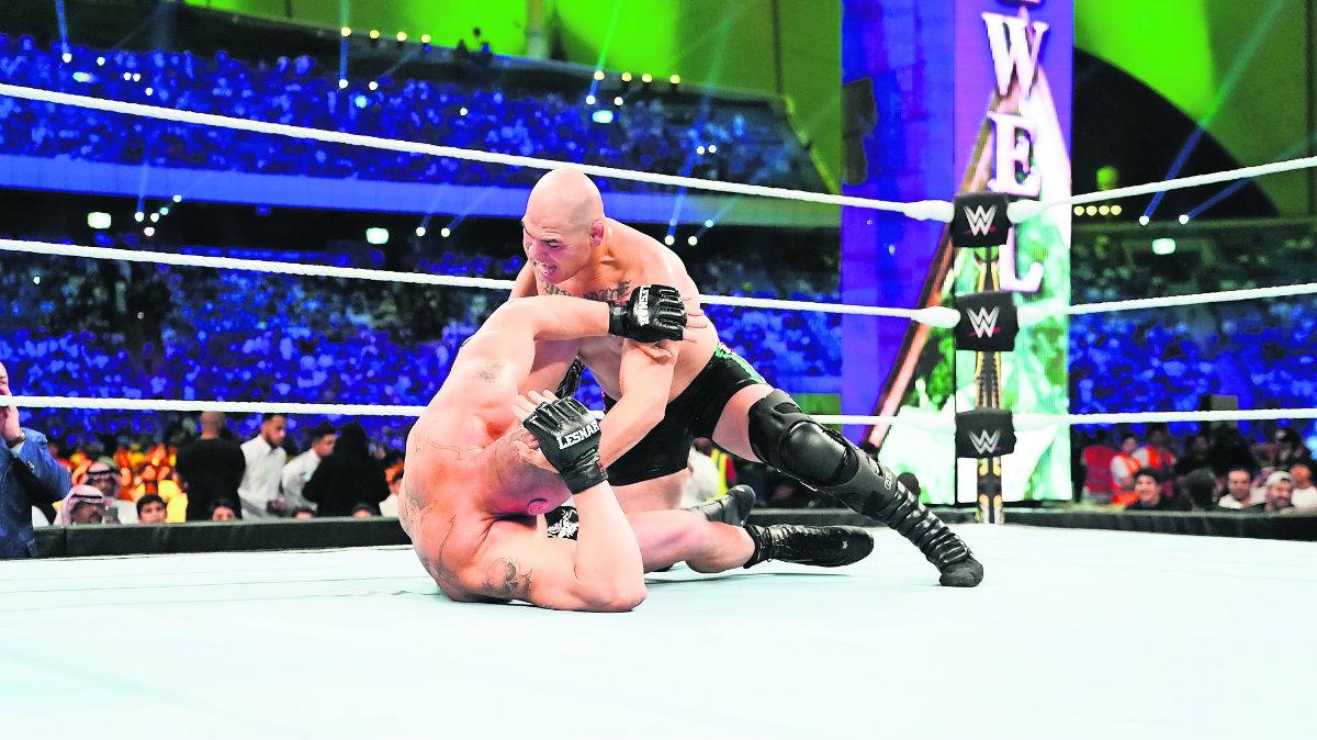 Brock Lesnar Caín Velásquez WWE