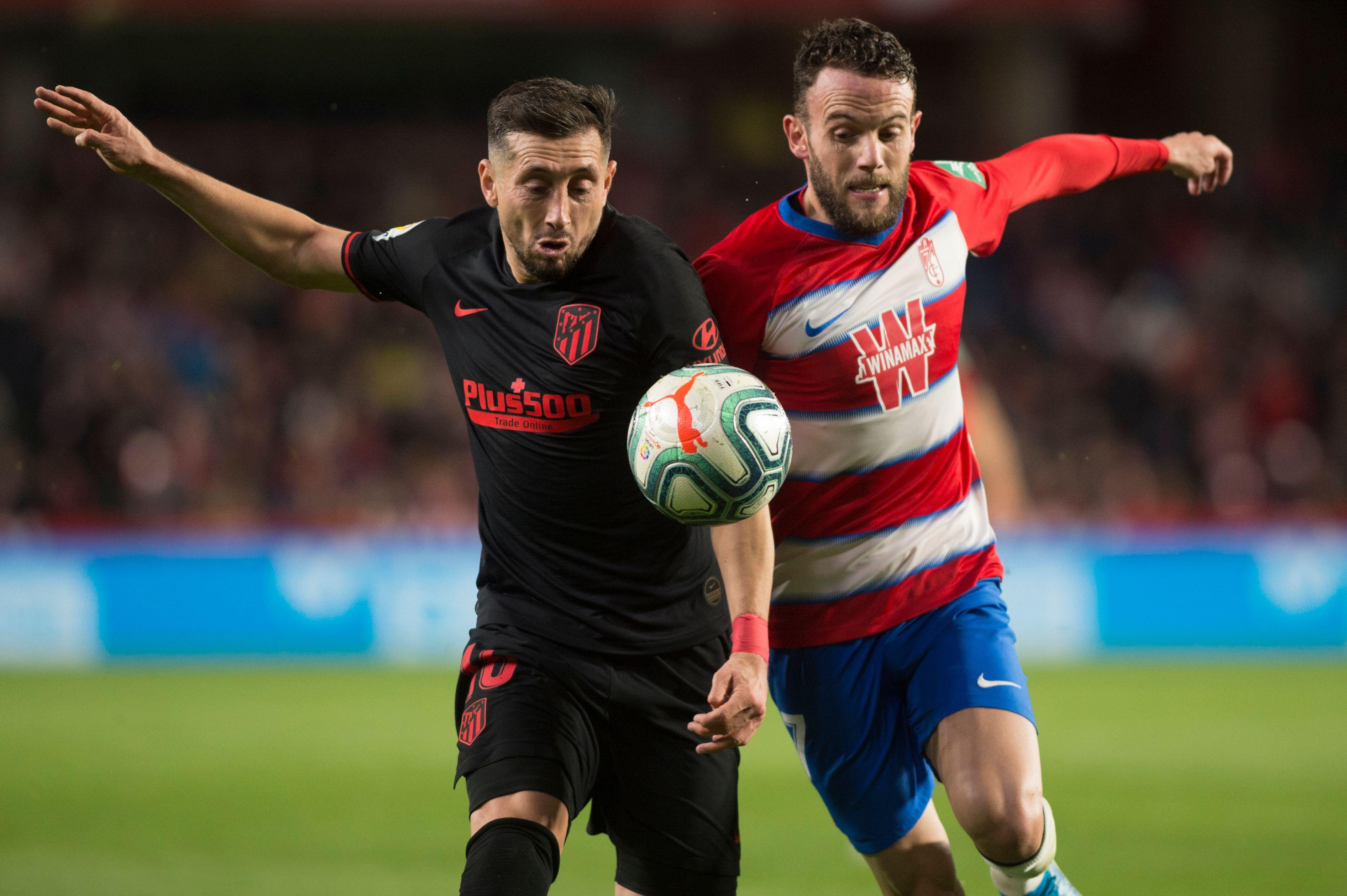 Con asistencia de Héctor Herrera, el Atlético empata contra el Granada