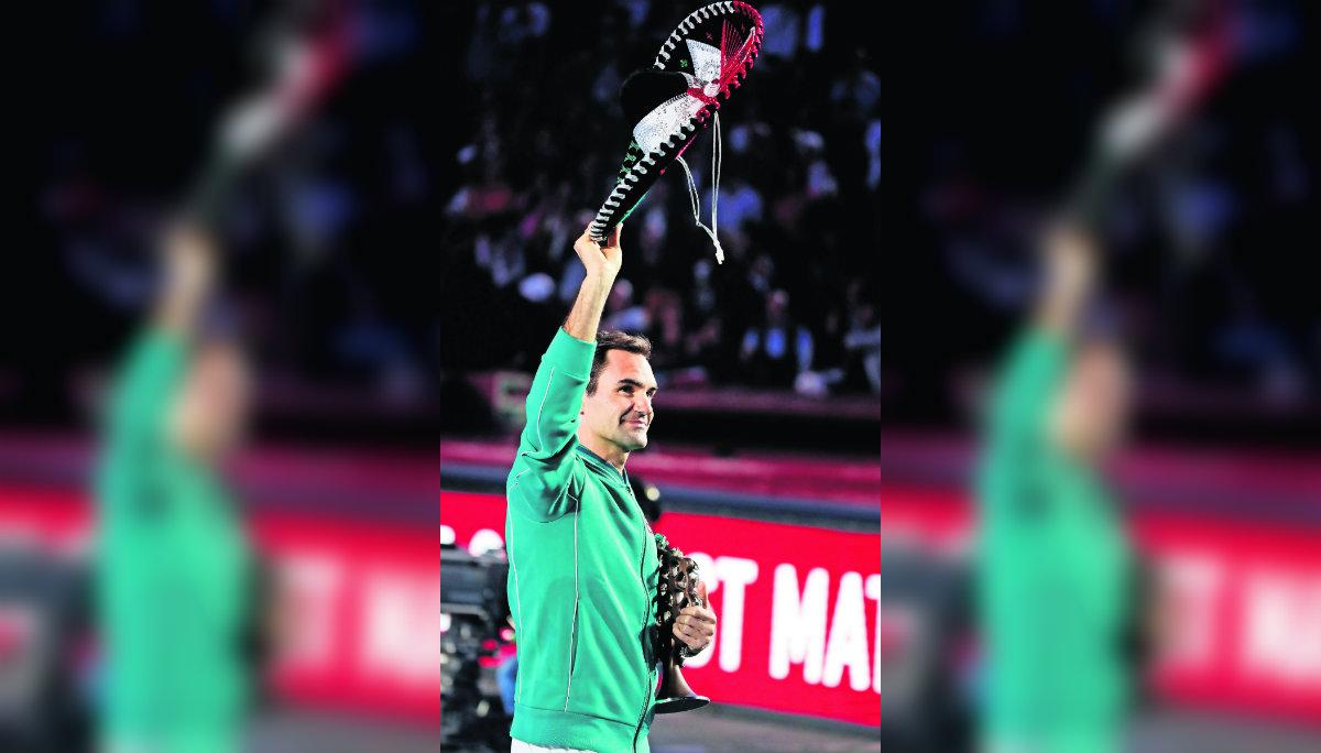 roger federer exhibición tenis deporte blanco plaza de toros méxico